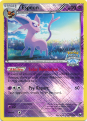 Espeon 48/108 Crosshatch Holo Promo - 2012 National Championships